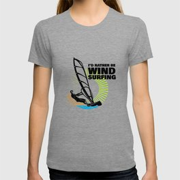 Windsurfing Colorful Graphic T Shirt and other Gift Items T-shirt
