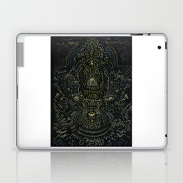 Metallic Drawing by Brian Benson Laptop & iPad Skin