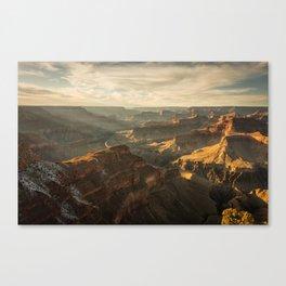grand canyon photo Canvas Print