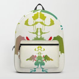 Rorschach Chicken Backpack