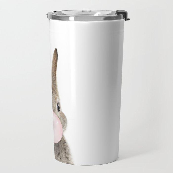 Bubble Gum Bunny Travel Mug