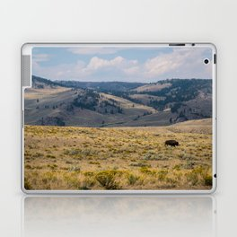 Yellowstone Bison Laptop & iPad Skin