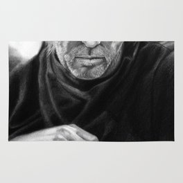 Eric Clapton PENCIL DRAWING Rug