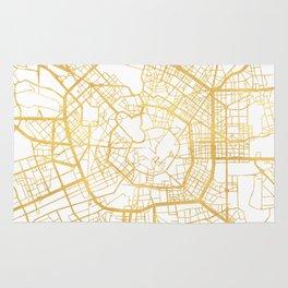 MILAN ITALY CITY STREET MAP ART Rug