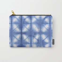 Shibori Itajime Carry-All Pouch