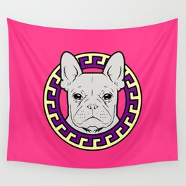French Caviar - Lollipop Pink Wall Tapestry