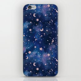 Zodiac - Watercolor iPhone Skin