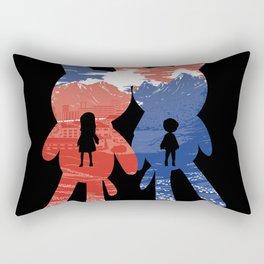 Ame and Yuki Rectangular Pillow