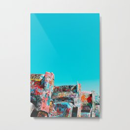 West Coast Road Trips Series: Cadillac Ranch Metal Print