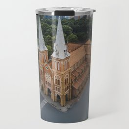 Notre-Dame Cathedral Basilica of Saigon Travel Mug