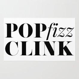 Pop Fizz Clink Rug