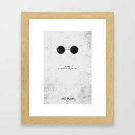Django Minimalist Framed Art Print
