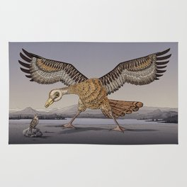 David and Goliath Rug