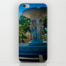 Fountain, Dupont Circle iPhone Skin