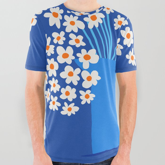 Abstraction_FLORAL_Blossom_001 All Over Graphic Tee