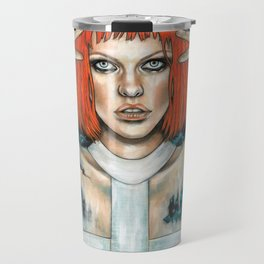Leeloo Dallas Travel Mug