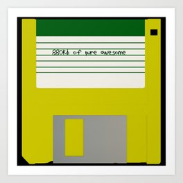 880kb of pure awesome Art Print