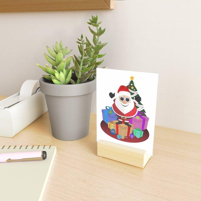 Santa Claus - Christmas Mini Art Print