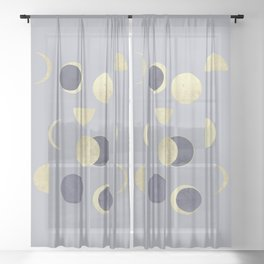 Moons Sheer Curtain