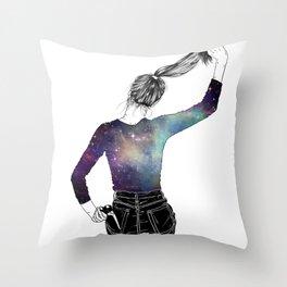 Corte pelo Throw Pillow