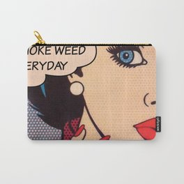 Smoke Weed Everyday Pop Art Carry-All Pouch