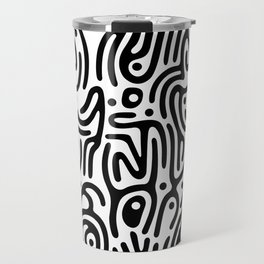 Identity Pattern Travel Mug