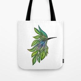 Leafed Birdie Tote Bag