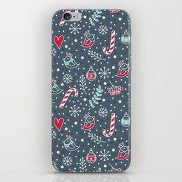 Cute christmass pattern iPhone Skin