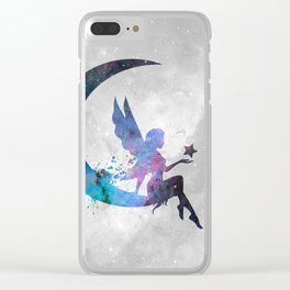 Galaxy Series (Fairy) Clear iPhone Case