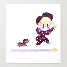 Jonghyun & Roo Canvas Print