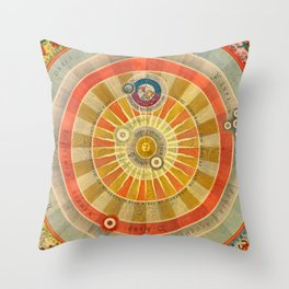 Caught in the Middle Throw Pillow