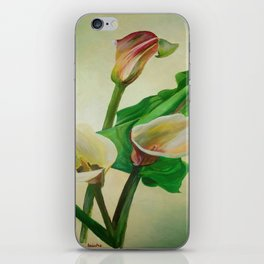 Three Calla Lilies iPhone Skin