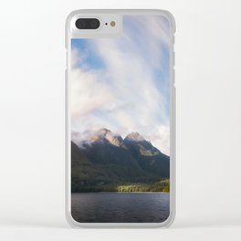Glorious Light early in the Morning on Lake Manapouri Clear iPhone Case