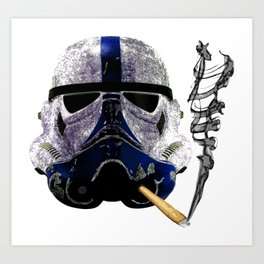 Blunt Trooper Art Print