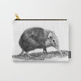 Black Shrew Carry-All Pouch