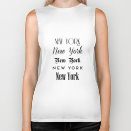 New York City Quote Sign, Digital Download, Calligraphy Text Art, World City Typography Print Biker Tank