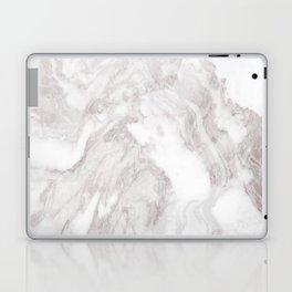 White Marble Mountain 013 Laptop & iPad Skin