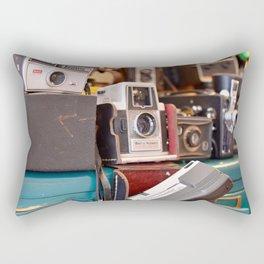 A Shot in Time Rectangular Pillow
