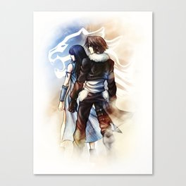 Squall and Rinoa - Griever Canvas Print