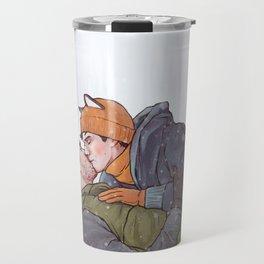 Winter Smooches Travel Mug