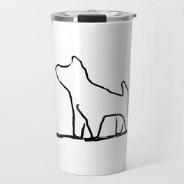 puppy dog Travel Mug