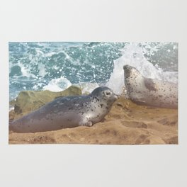 Seal of No Approval Rug