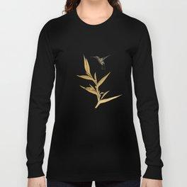 Hummingbird & Flower II Long Sleeve T-shirt