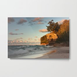 Pictured Rocks National Park Metal Print