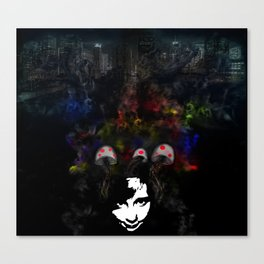 Expansion of Disbelief  Canvas Print