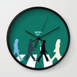 Abbey Road Wall Clock