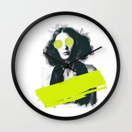 Sour Vision Wall Clock
