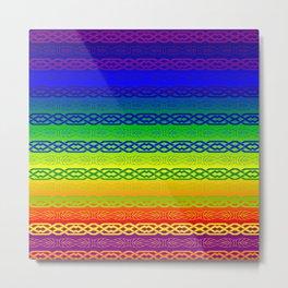 Freedom (rainbow) Metal Print