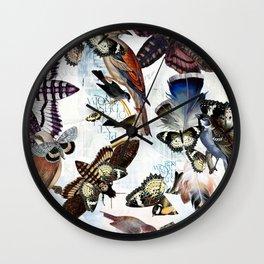 BIRD MIRAGE Wall Clock