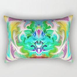 343 - Abstract Colour Design Rectangular Pillow
